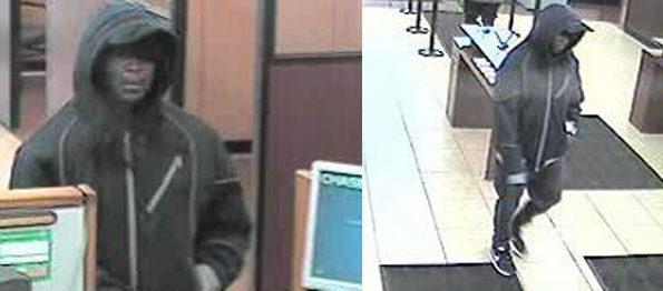 Chase Bank Robbery Palatine video surveillance
