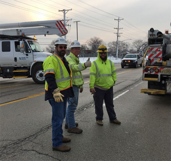 Atlantic City Electric Crew in Arlington Heights
