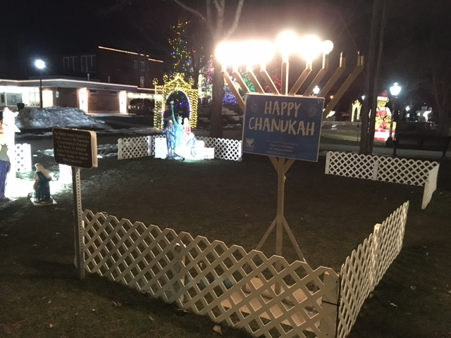 Happy Chanukah North School Park Arlington Heights