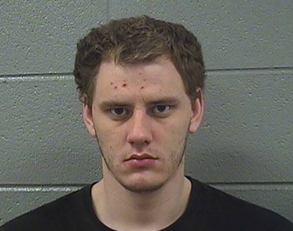 Cameron Ruebusch, suspected of assaulting a federal employee with a weapon