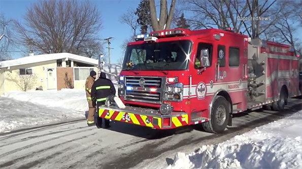 Wheeling Fire Engine 42 CO illness scene