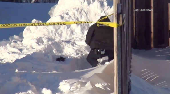 Snow collapse investigation Arlington Heights