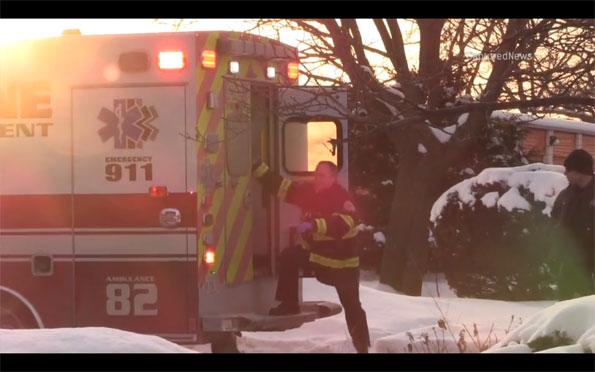 Palatine firefighter/paramedics at shooting