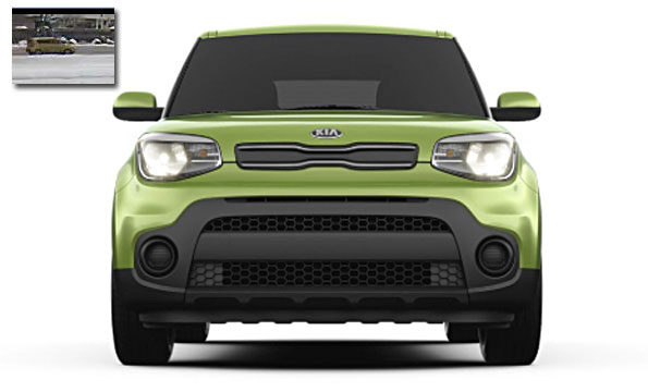 Kia Soul Front View with Security image Arlington Heights suspect vehicle Attempted Child Luring