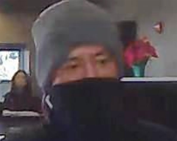 Rolling Meadows bank robbery Saturday February 9, 2019