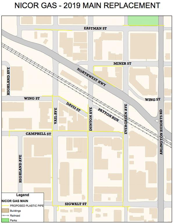 Arlington Heights Nicor Main Replacement