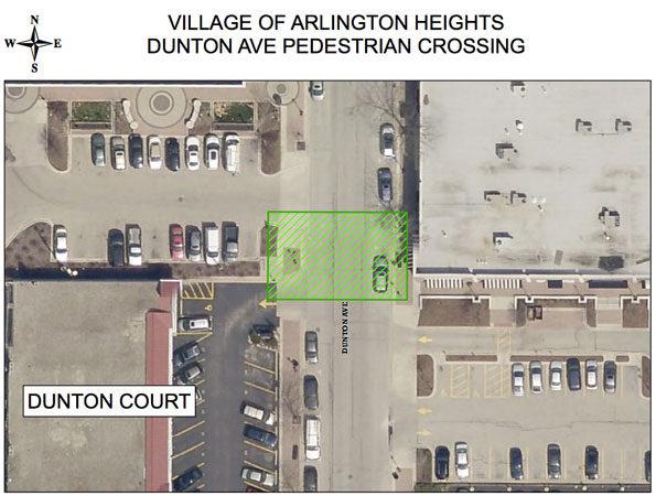 Dunton Avenue Mid-Block Crossing