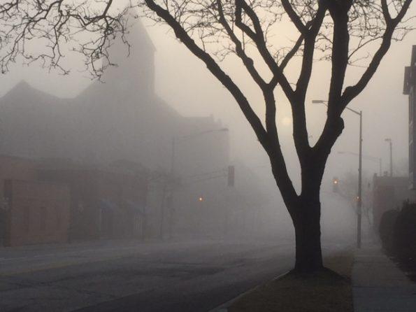 Foggy Village Hall Arlington Heights
