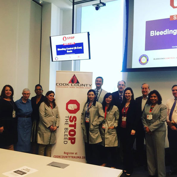 Stop the Bleed Group Cook County Health