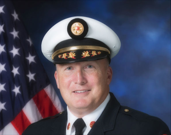 Bartlett Fire Protection District Chief William Gabrenya