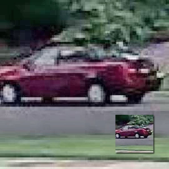 Attempted Child Luring Suspect Vehicle Arlington Heights August 2019