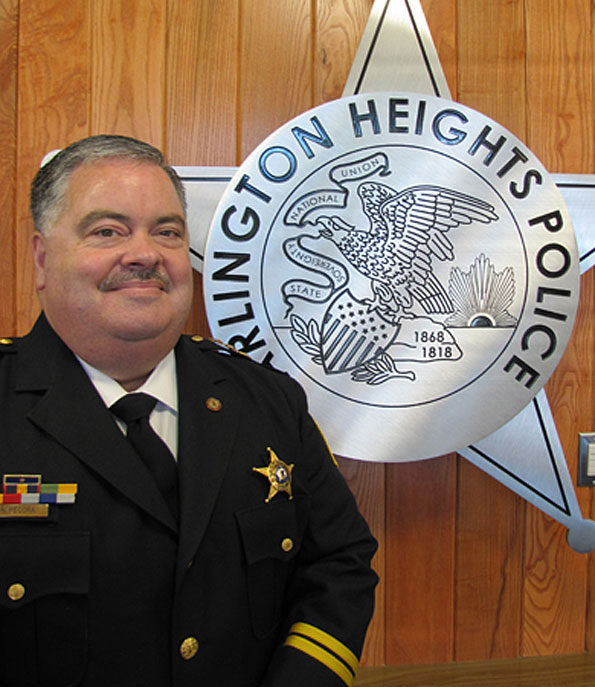 Nicholas Pecora, sixth Police Chief serving Village of Arlington Heights