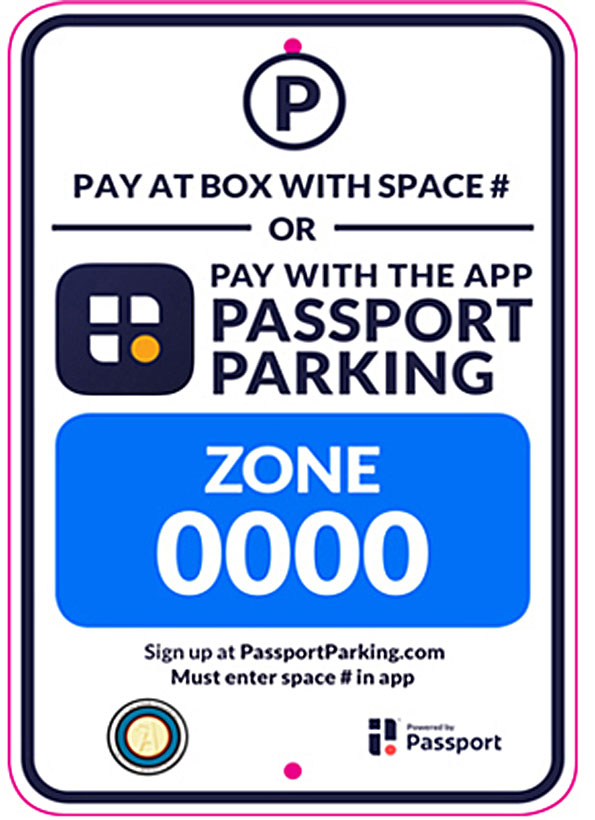 Passport App Sign