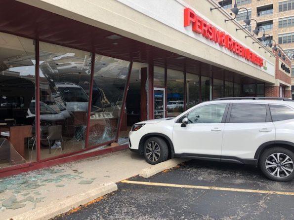 SUV crash Persin and Robbin