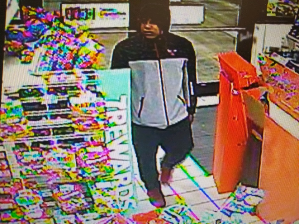 Armed robber Beach Park 7-Eleven