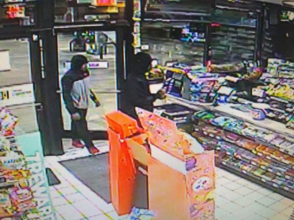 Armed robbers Beach Park 7-Eleven