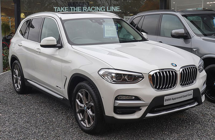 2018 BMW X3 File Photo by Vauxford October 2019 (CC BY-SA 4.0)
