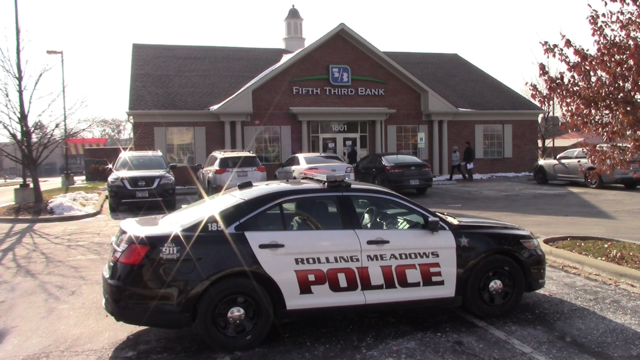 Rolling Meadow bank robbery