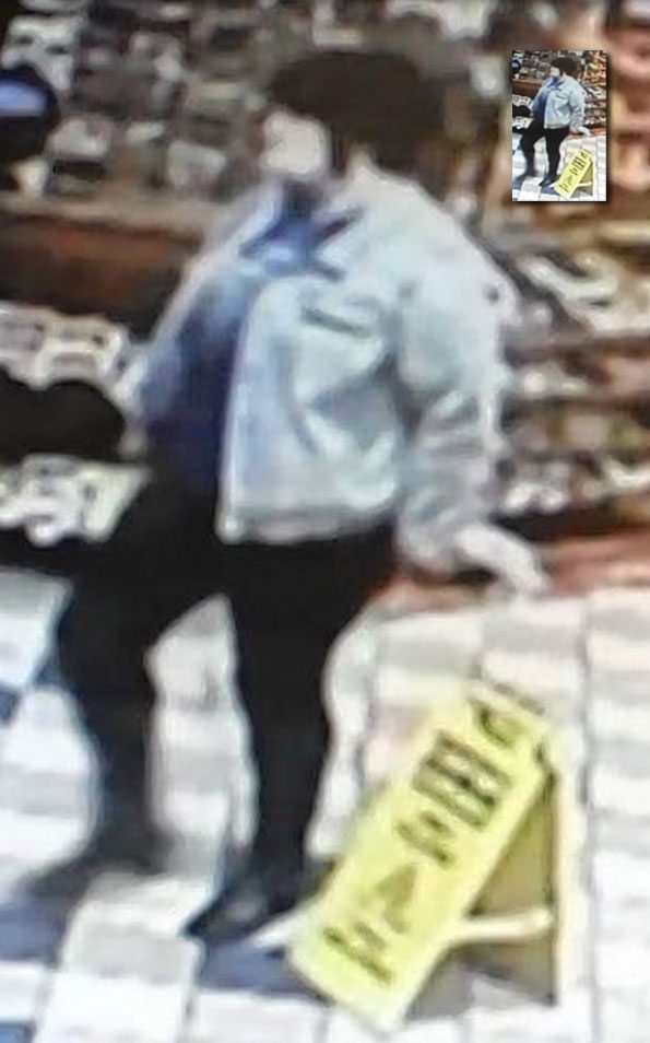 Crystal Lake Attempt Robbery suspect October 31, 2019