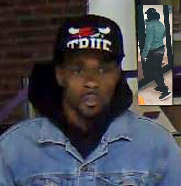 Waukegan bank robbery suspect