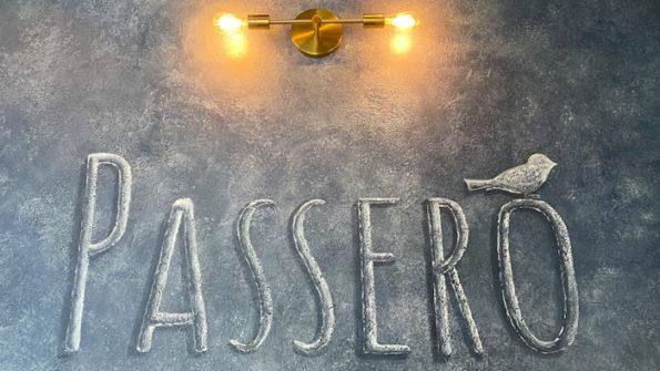 Passero opens December 12, 2019