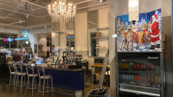 Coco and Blu Cafe Christmas