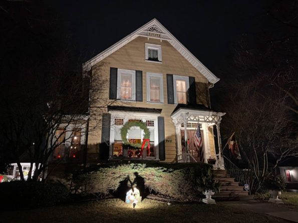 House with Christmas decoration Arlington Heights