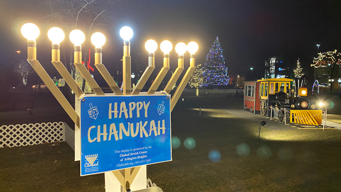 Happy Chanukah Lighting