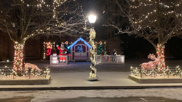 Harmony Park Christmas Arlington Heights