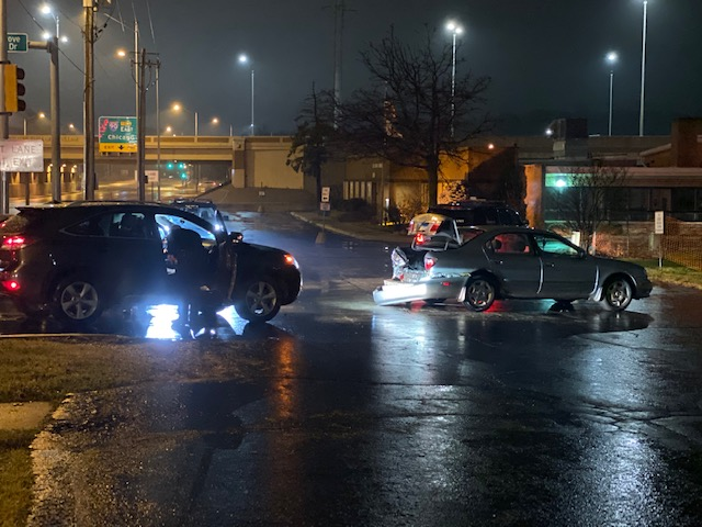 Suspected DUI crash at Arlington Heights Road and Elk Grove Township Drive