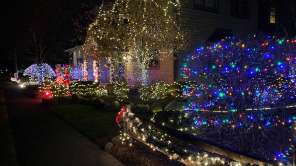 Many Lights in Arlington Heights