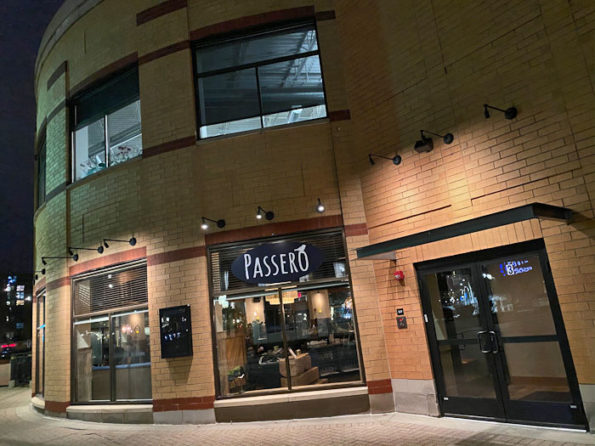 Passero, first night in new location, Arlington Heights December 12, 2019