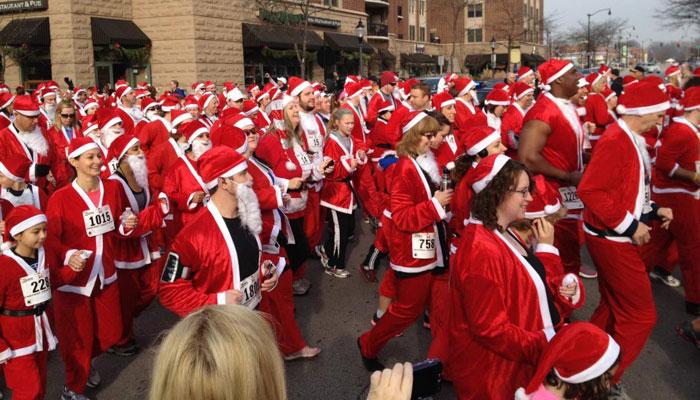 Rotary Santa Run 2012