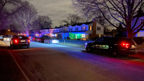 Police activity Arlington Heights