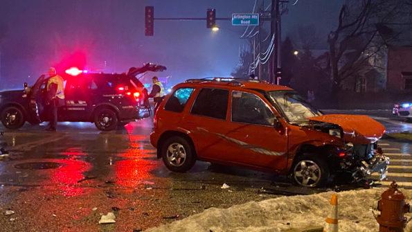 Head-on crash at Arlington Heights Road and Hintz Road