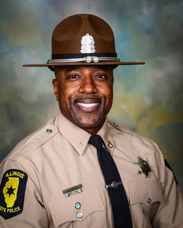 Gregory Rieves, retired Illinois State Trooper shot and killed in cigar lounge in Lisle (SOURCE: Illinois State Police)
