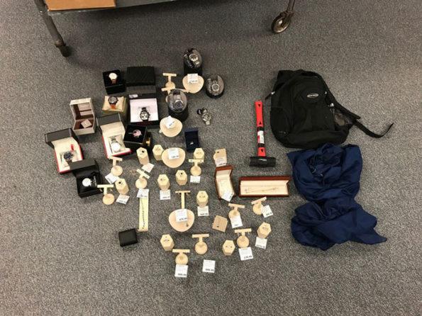 Merchandise taken Mettawa Costco (SOURCE: Lake County Sheriff's Office)