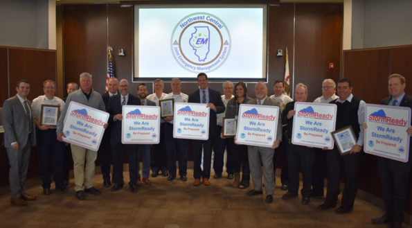 Eight more communities are now StormReady in the northwest suburbs of Chicago (SOURCE: Northwest Central Joint Emergency Management System)