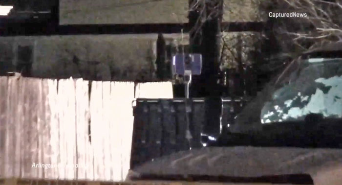 Panoramic Forensics Camera at crime scene at Maple St and Oakton St, Des Plaines