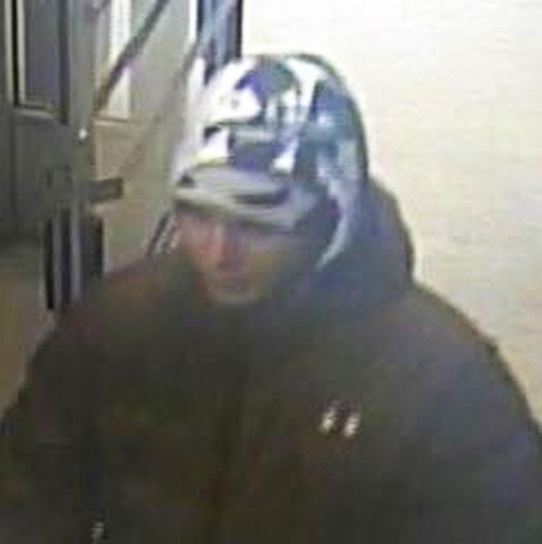 Armed robbery suspect, Jewel-Osco, Schaumburg