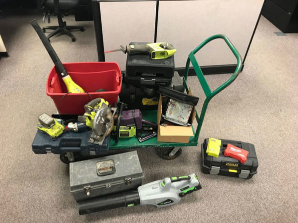 Stolen tools recovered in unincorporated Round Lake