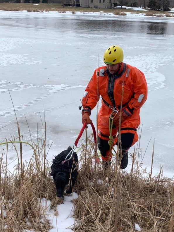 Hawthorn Woods Dog Rescue (SOURCE: Lake Zurich Fire Rescue)