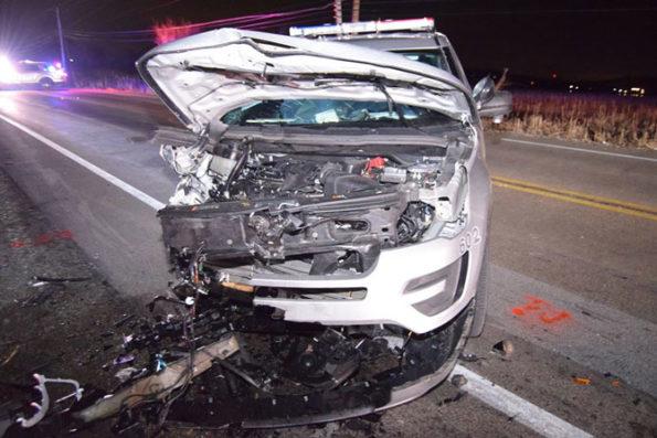 Lake County Sheriff's deputy involved in head-on crash (SOURCE: Lake County Sheriff's Office)
