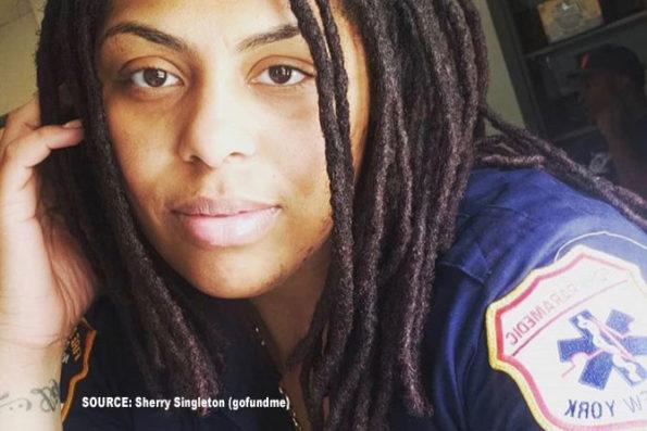 Christell Cadet FDNY paramedic (SOURCE: Sherry Singleton on gofundme)