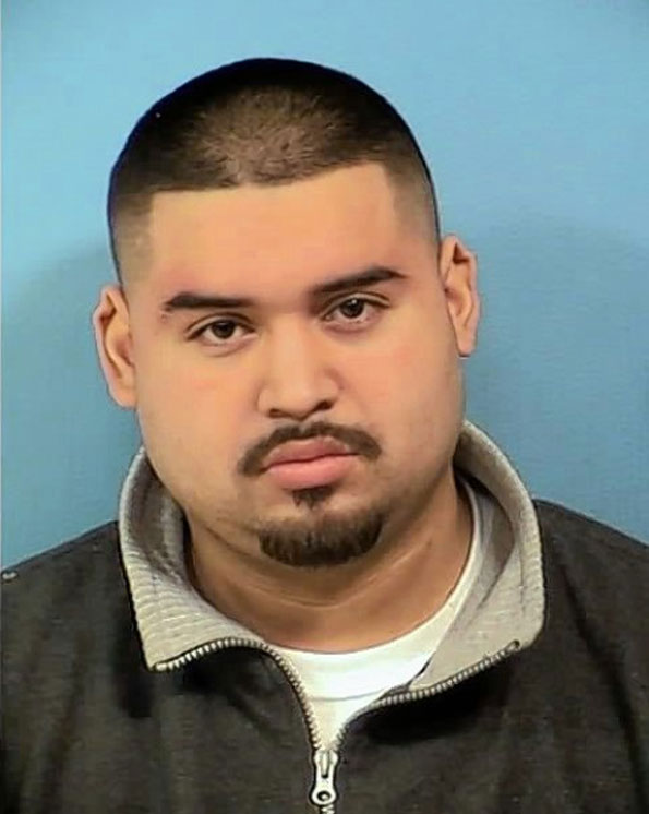 Christopher Hernandez, suspect weapons and criminal damage to property (DuPage County Sheriff's Office)