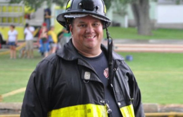 Fred J. Felella Jr, firefighter, Sugar Grove Fire Department
