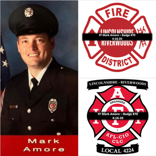 Mark Amore, Lincolnshire-Riverwoods firefighter/paramedic (SOURCE: Lincolnshire-Riverwoods FPD)