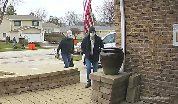 Offenders walking up driveway (SOURCE: Ring.com)