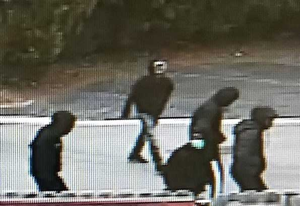 Carjacking suspects captured on security video in Zion, Tuesday March 31, 2020