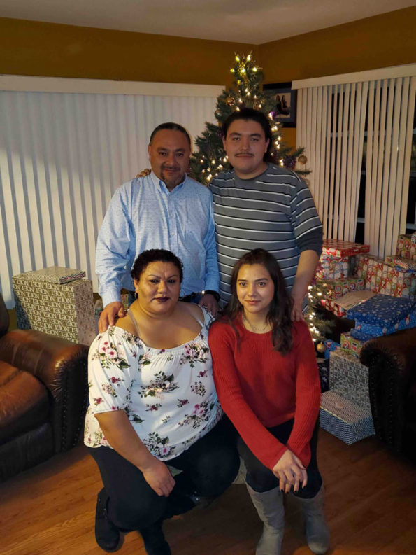 Cuahquentzi Family (family gofund me photo)